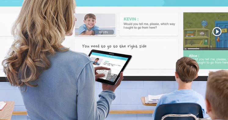 Enseñanza interactiva para conseguir la máxima atención