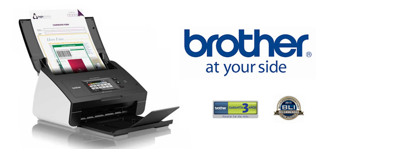 Escáner documental Brother ADS-2600We