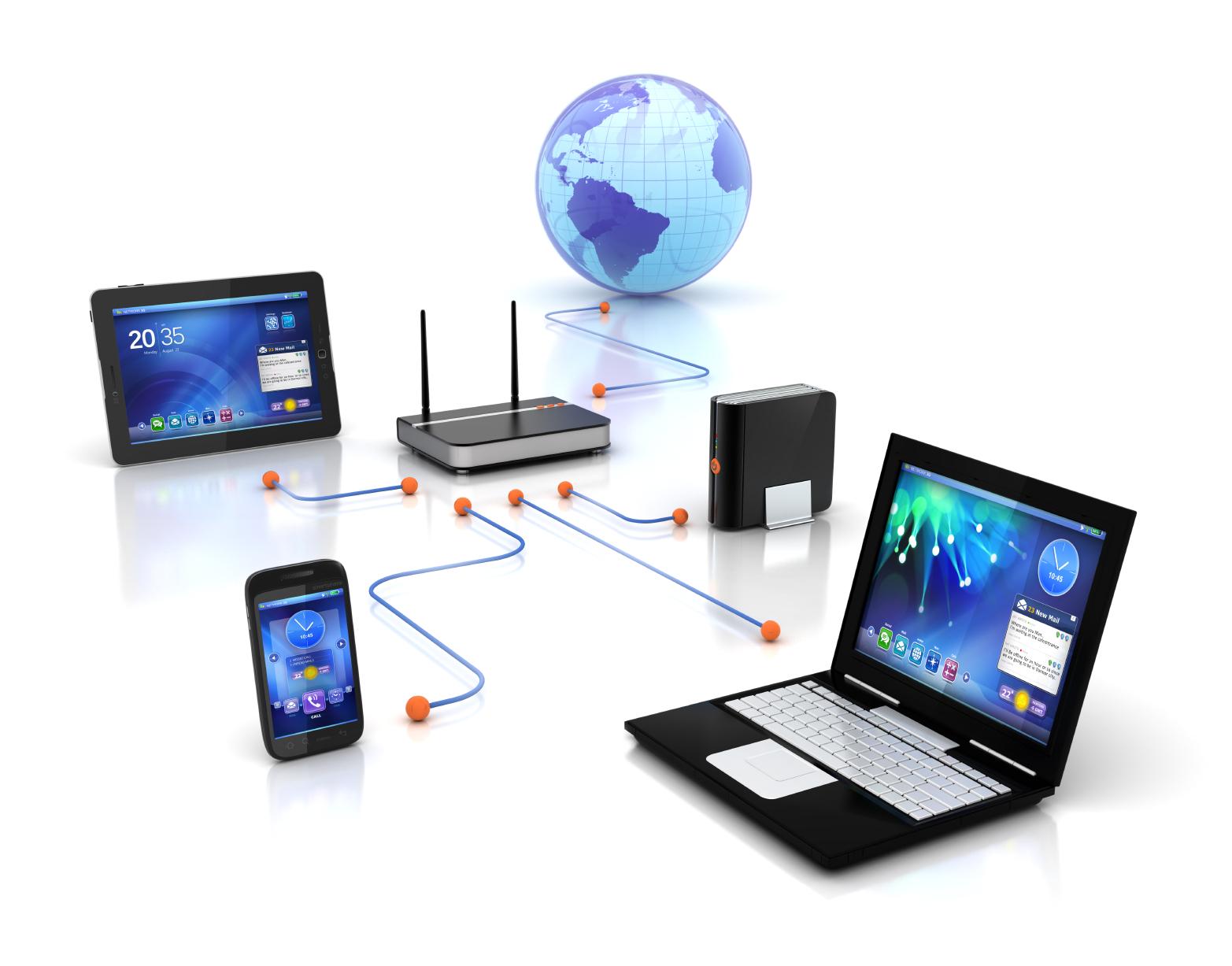 Servicio de instalación e infraestructura de redes de comunicación a empresas y profesionales