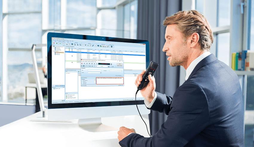 Software de dictado y reconocimiento de voz