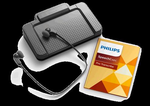 Software de dictado y transcripción