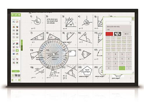 Monitores interactivos para aulas de formación