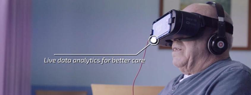 Realidad Virtual terapeutico con Wake Up Smile