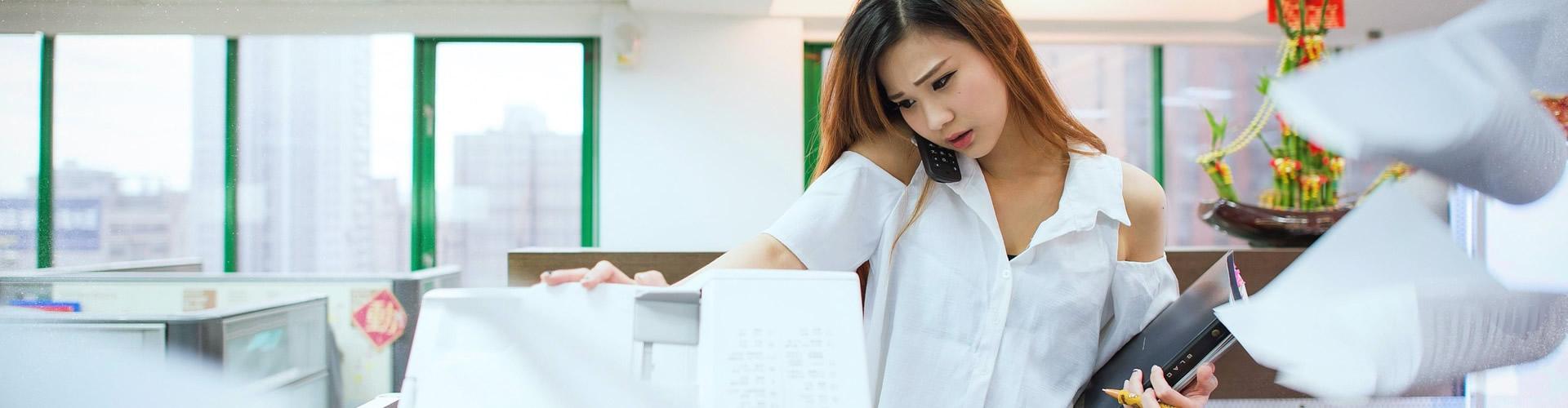 Servicio de impresión. Renting y Mantenimiento de equipos multifunción