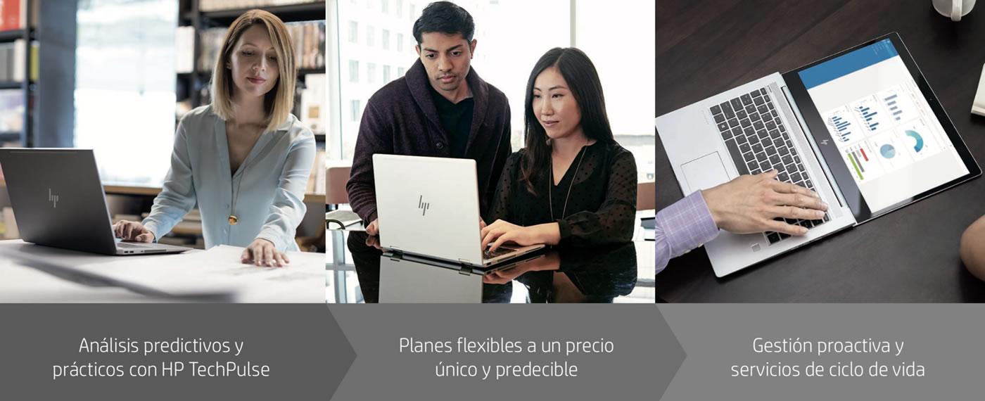 Flexibiliza tus equipos y servicios en función de la evolución de las necesidades del negocio y del personal