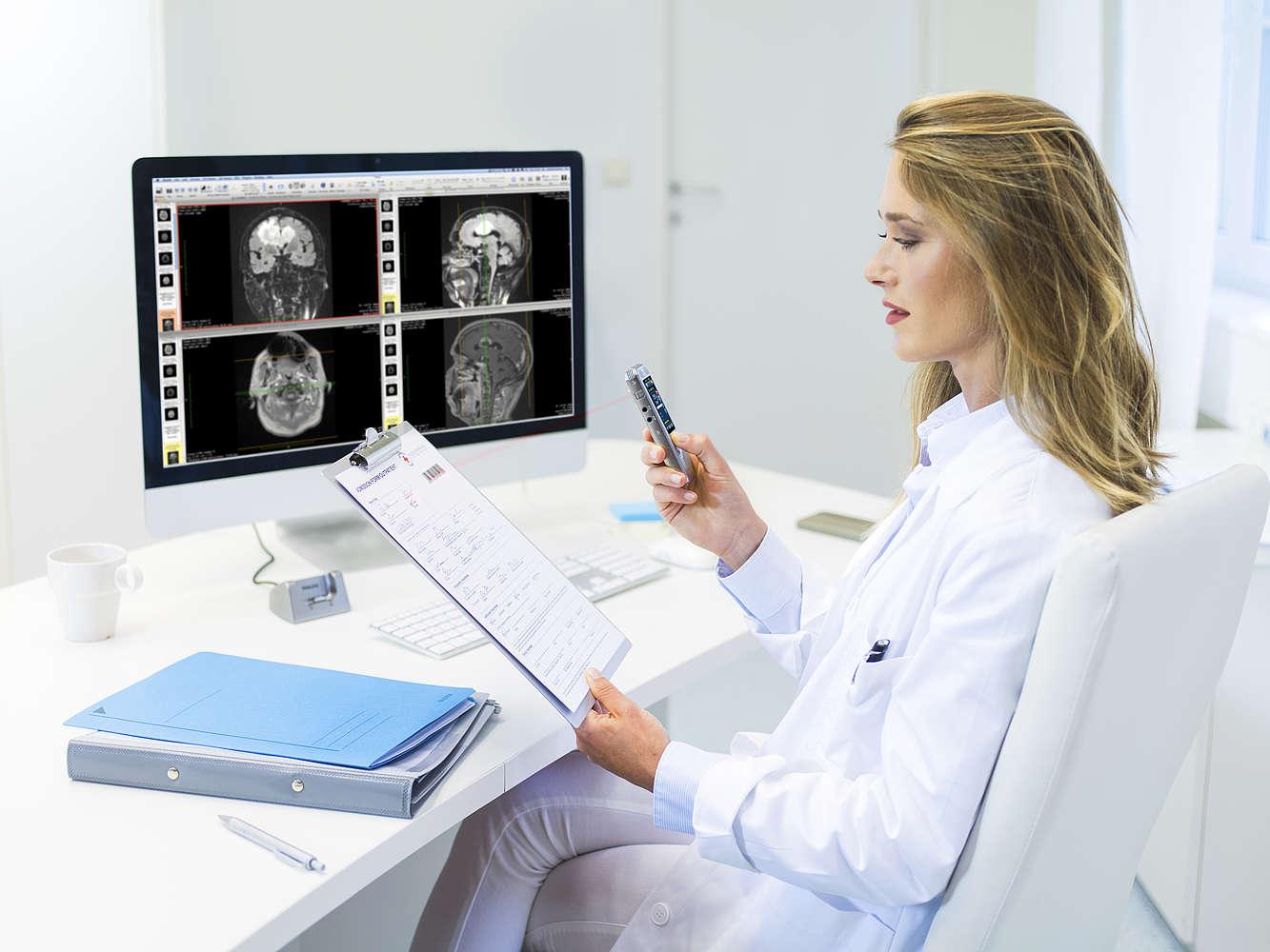 Grabador y dictado digital para el profesional de la salud
