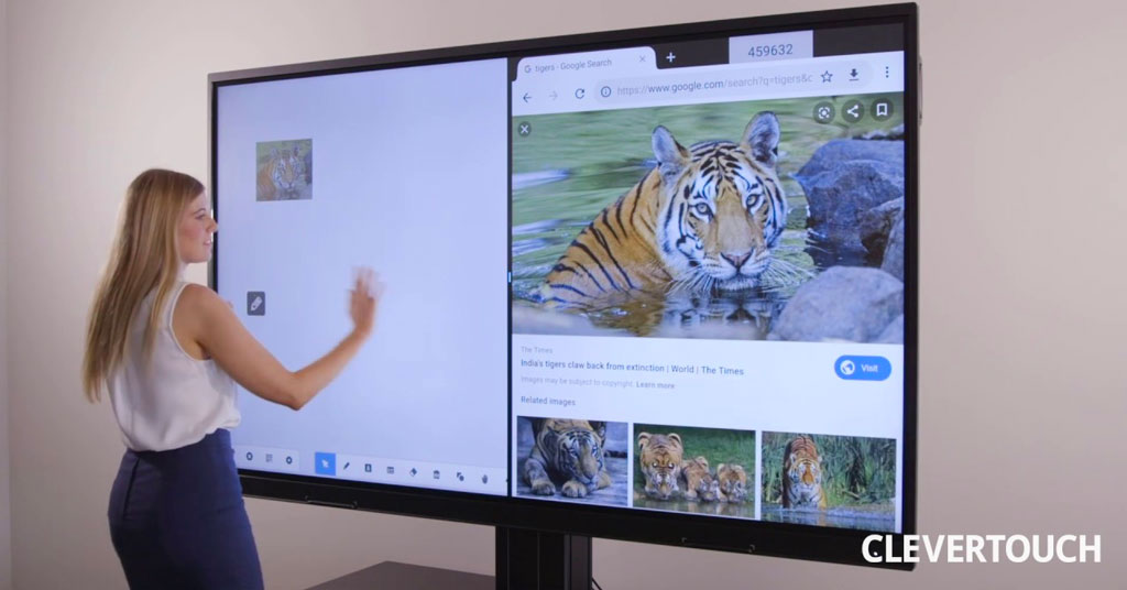 Monitores-Clevertouch