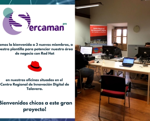 Incorporación plantilla RED HAT