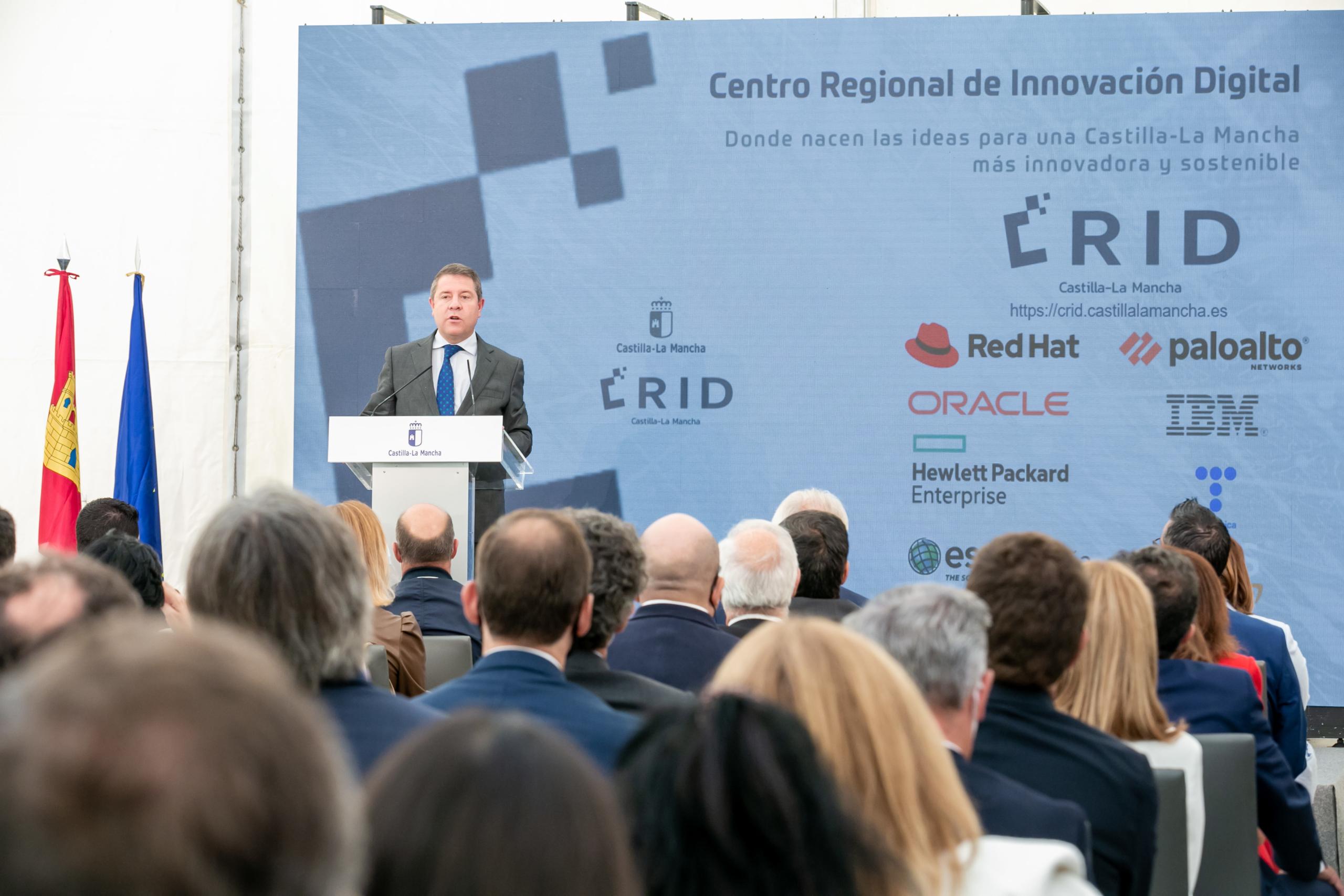 Page inaugura el CRID que ya es referente tecnológico